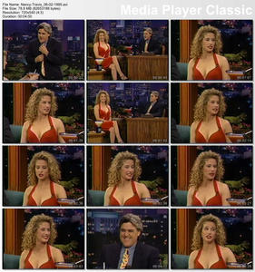 Nancy Travis - The Tonight Show with Jay Leno - June 2, 1995