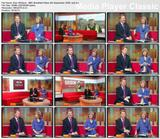 Sian Williams crossing her legs - BBC Breakfast News 8th September 2008 video