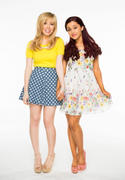 Jennette McCurdy and Ariana Grande &amp;quot;Sam and Cat&amp;quot; Promo X1