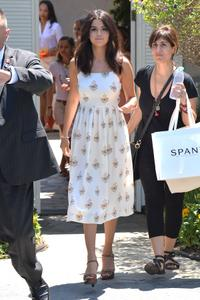 Selena Gomez leaves a private party in Brentwood August 10,
