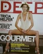 Tricia Helfer on the Cover of Deep (1xMQ)