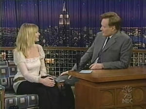 Kirsten Dunst - Late Night with Conan O'Brien (2002)