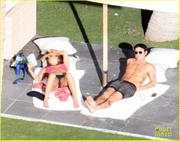 Jennifer Aniston Wearing a Bikini in Mexico - December 24, 2012