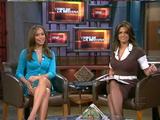 Barbara Bermudo, Satcha Pretto, Paulina Rubio - Univision - 5 Shows - Thighs - 11/21/07 - VideoClip