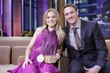 Kristen Bell on Tonight Show August 16, 2012 x4