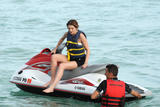 Миша Бартон, фото 10502. Mischa Barton - wearing a bikini top at a beach in Miami 01/02/12, foto 10502
