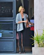 Charlize Theron out & about in LA 10/24/11