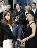Sienna Miller and Keira Knightley at The Edge of Love premiere at 62nd Edinburgh International Film Festival in Scotland