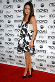 Mila Kunis looks beautiful in black and white dress at New York Moves Art and Design Issue launch party in New York City