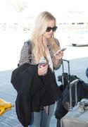 Olivia Holt at LAX Airport 02/21/14